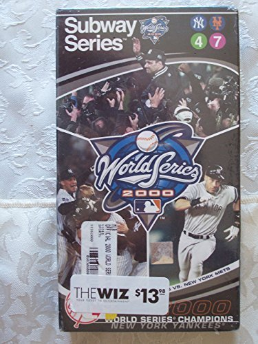 2000 Official World Series Video - New York Yankees vs. New York Mets [VHS] [...