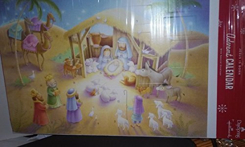 DAYSPRING FOR HALLMARK JESUS IS BORN ADVENT CALENDAR CARD WITH ENVELOPE