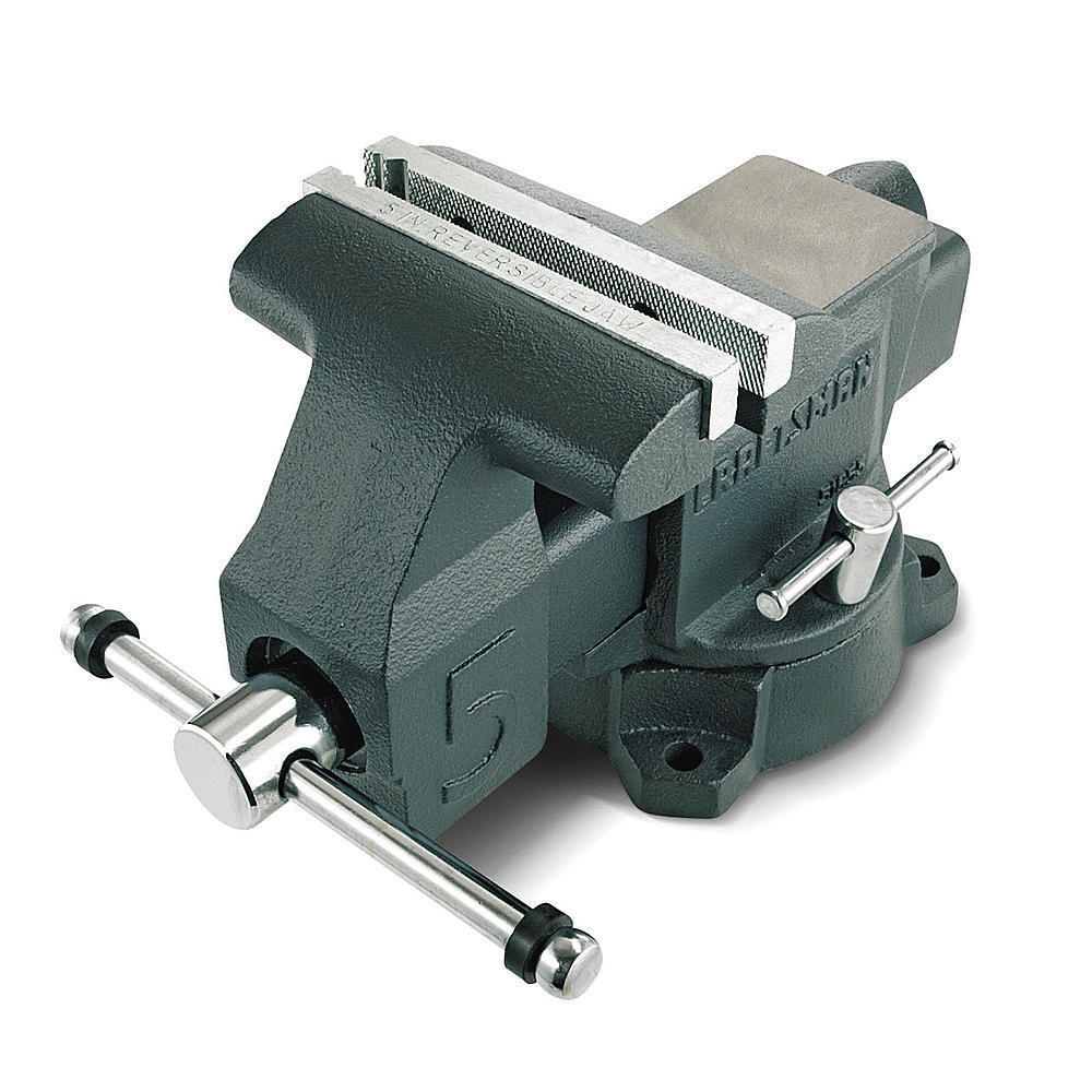 Craftsman 5 inch Bench Vise Versatile Solid Hand Tools Anvil Top Stable Clamps