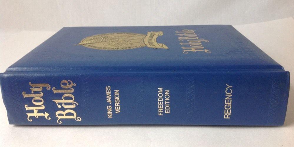 Regency Holy Family Bible Spirit Of Liberty Freedom Ed King James Red Letter