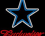 Nfl budweiser dallas cowboys neon sign 16  x 16  thumb155 crop