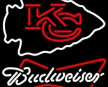 Nfl budweiser kansas city chiefs neon sign 16  x 16  thumb155 crop