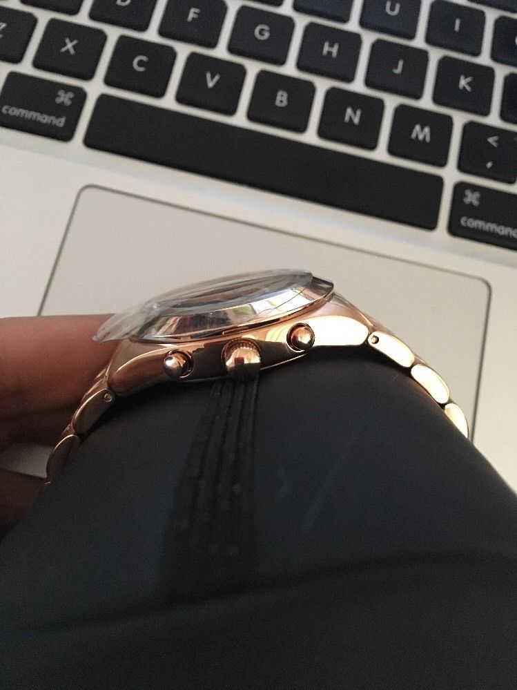 Marc Jacobs MBM3394 Rose Gold Stainless Steel Watch - New With Box