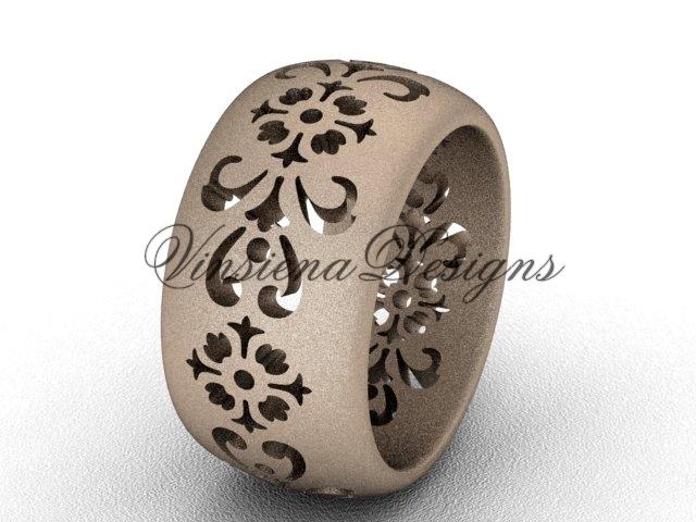 035g rose gold  diamond wedding ring  diamond engagement ring  forever brilliant moissanite  m 1