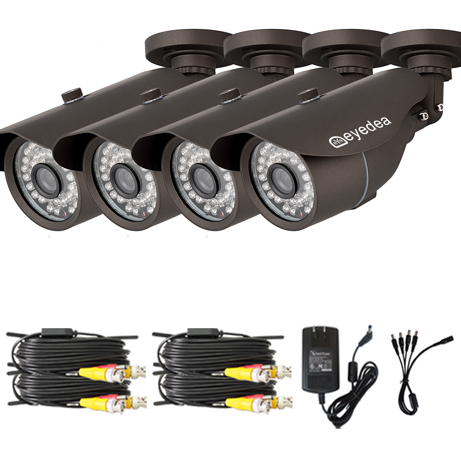 Eyedea 16 Channel 1080N HDMI AHD DVR 3500TVL Outdoor CCTV Security Camera System