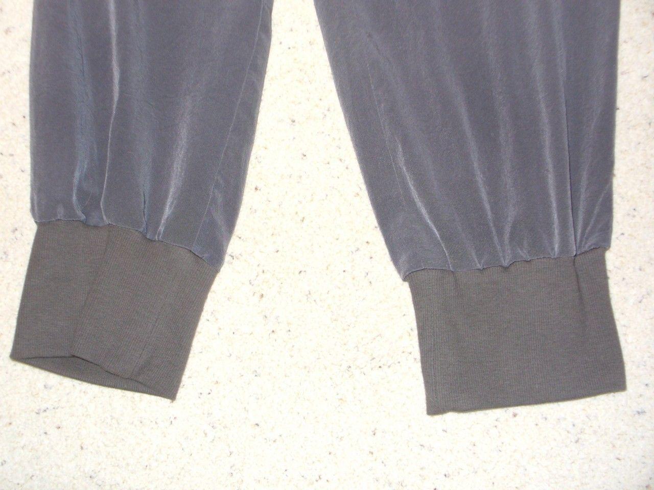ELIZABETH & JAMES Pants Cropped Banding Drawstring Waist 6 Silky
