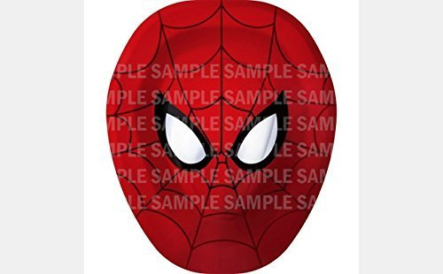 "Spiderman Birthday Edible Image Photo 8"" Round Cake Topper Sheet Personalized..."