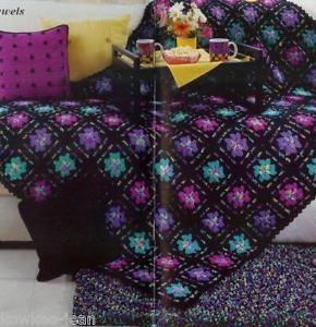 Shag loop stitch crochet rag rug pattern patterns
