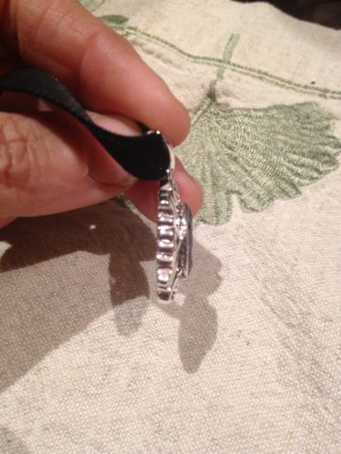 Nemesis Vintage Amethyst Filigree 925 Sterling Silver Pendant