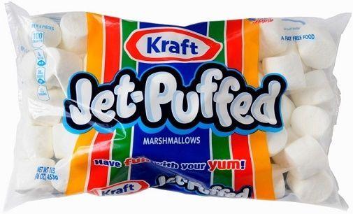 Kraft Jet Puffed Marshmallows 16 oz Bag