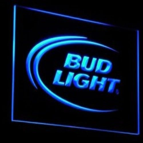 bud light neon light sign  beer pub bar man cave