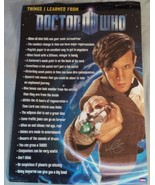 Matt Smith Hand Signed Doctor Who Poster COA - $149.99
