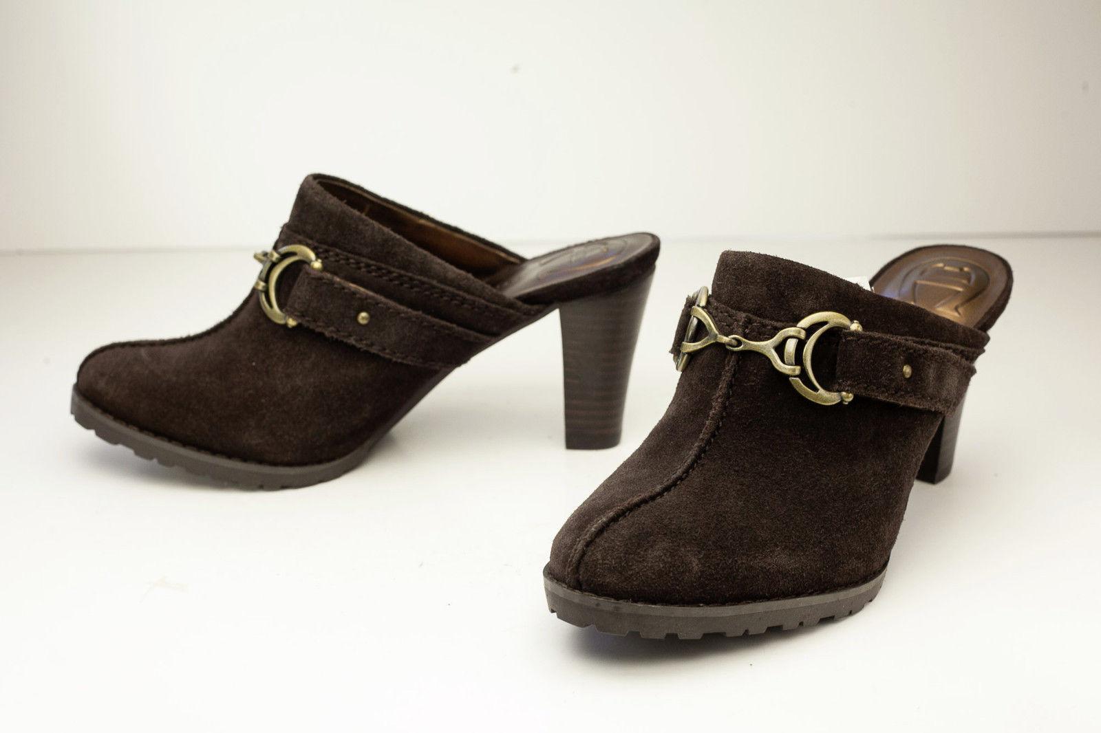 Etienne Aigner 6 Brown Mules Women's Shoes