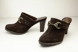 Etienne Aigner 6 Brown Mules Women's Shoes - $22.00