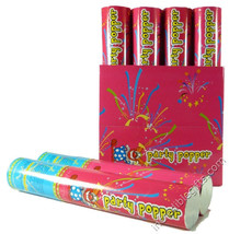 """PARTY POPPER 12"""" (RED & BLUE) CASE OF 6 PIECES - $18.31"""