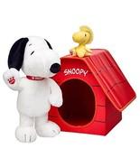 Build a Bear Snoopy Woodstock Doghouse 2015 Pea... - $399.99