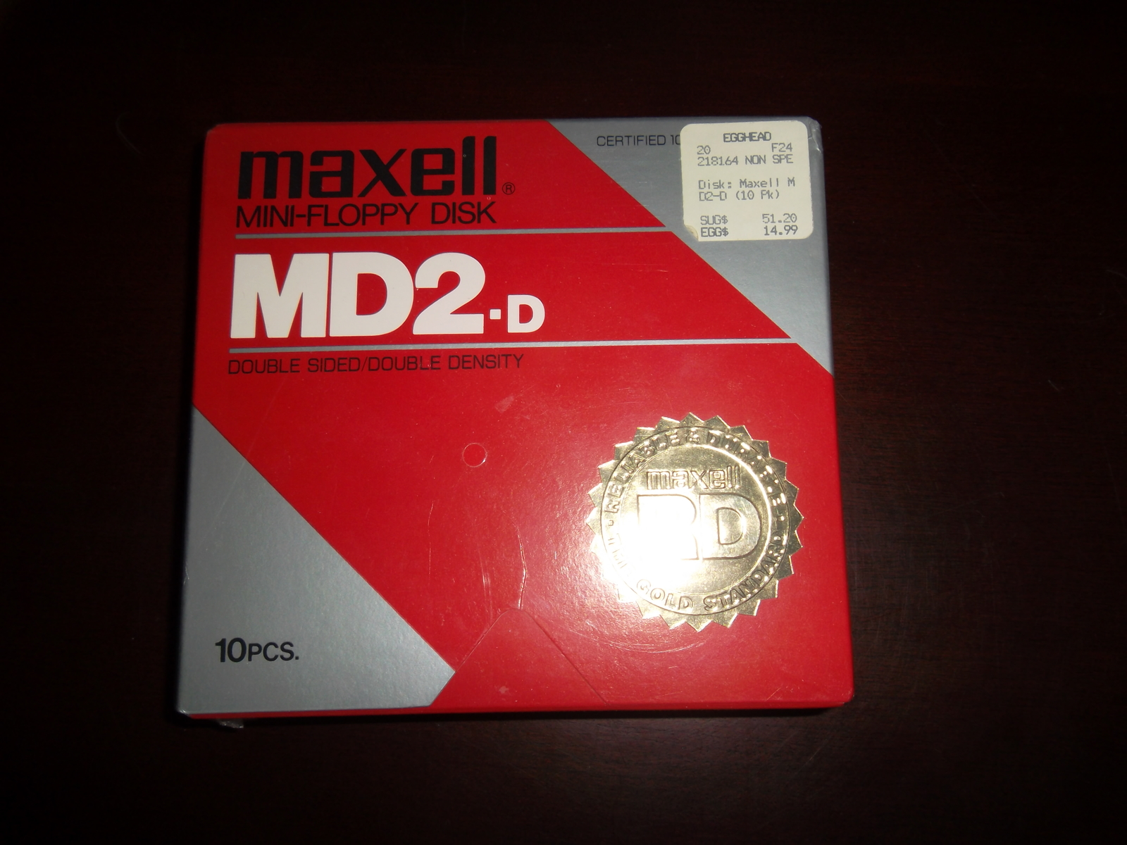 Maxell md2 eric 001