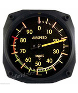 New Trintec Vintage Aviation Airspeed Indicator Wall Celcius Thermometer... - $30.37