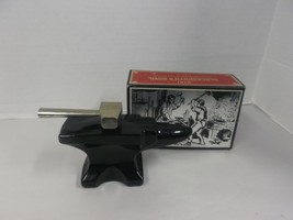 """Vintage 1970s Avon """"Blacksmith's Anvil"""" Leather After Shave Empty W/Box! - $5.72"""