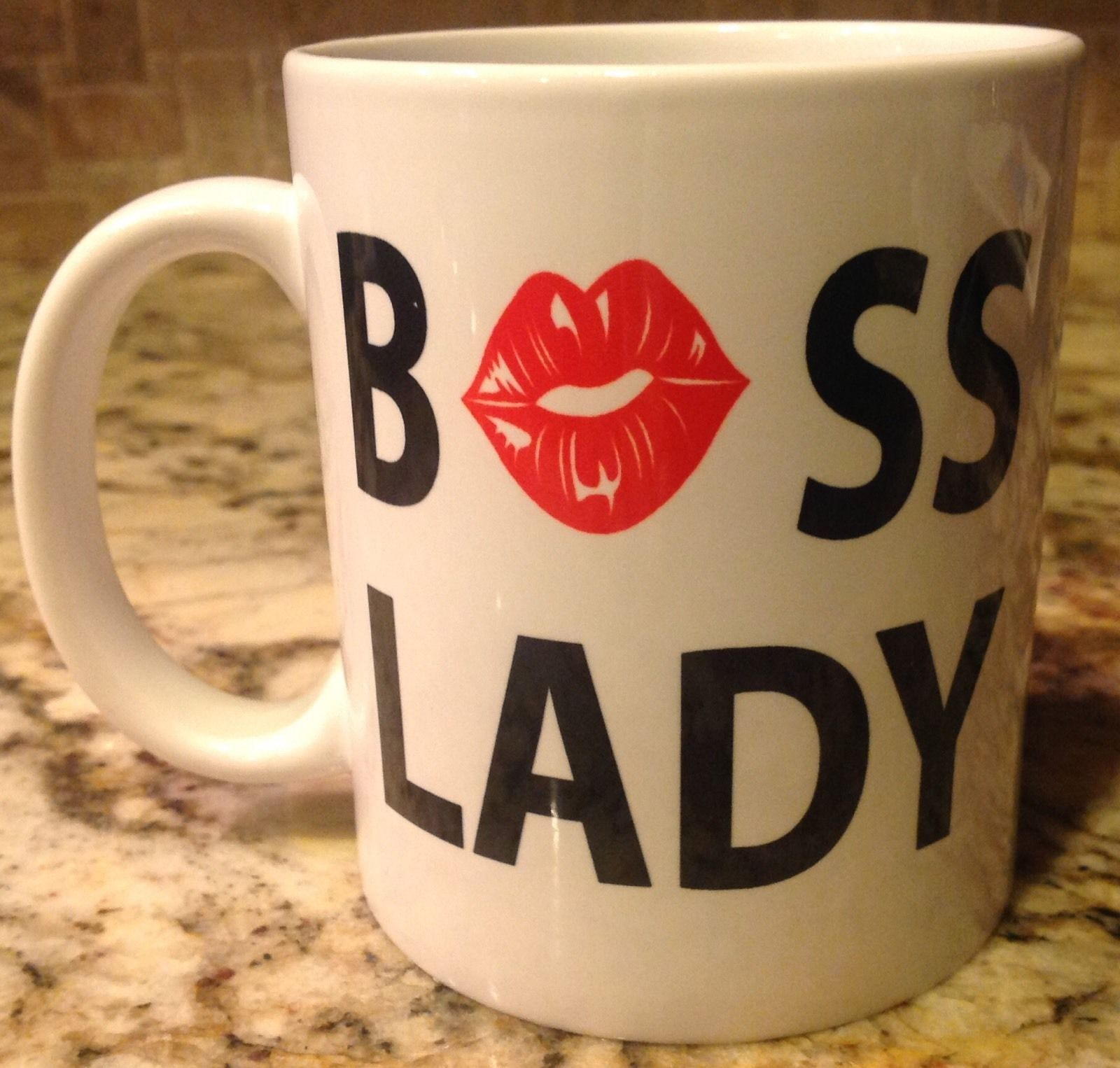 Ceramic Coffee Tea Mug Cup11oz BOSS LADY Funny Great Gift New