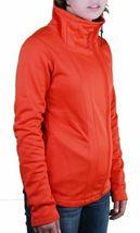 Bench Orange Galsworthy Zip Thru Warm Up Track Jacket BLEA3297-OR035 NWT image 3