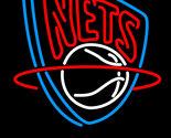 Nba budweiser new jersey nets neon sign 20  x 20  thumb155 crop