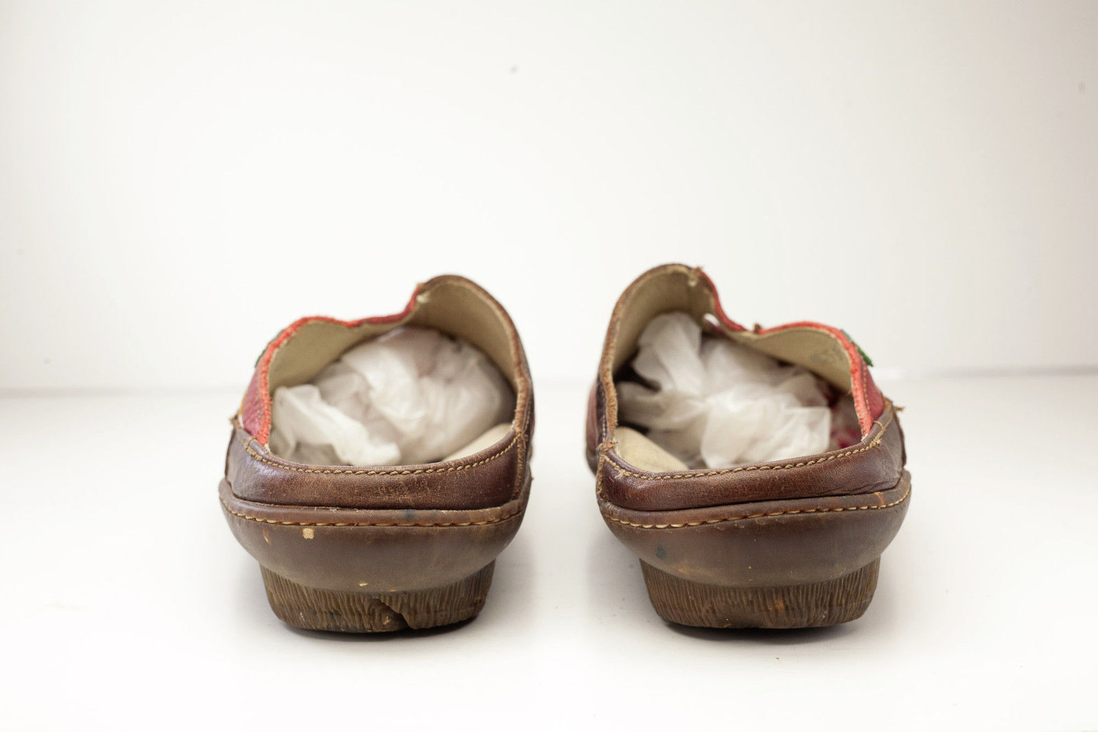 El Naturalista 7 Brown Red Women's Slip On Shoe EU 38