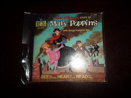 Walt Disney's Mary Poppins~1977~Children's read-along record book~ - $14.95