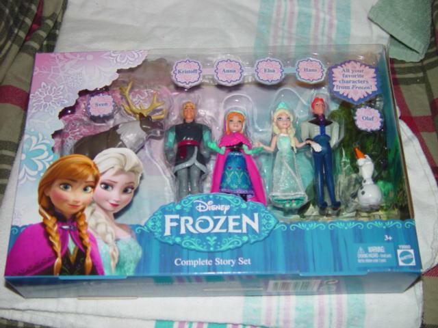 Disney Frozen Complete Story Set