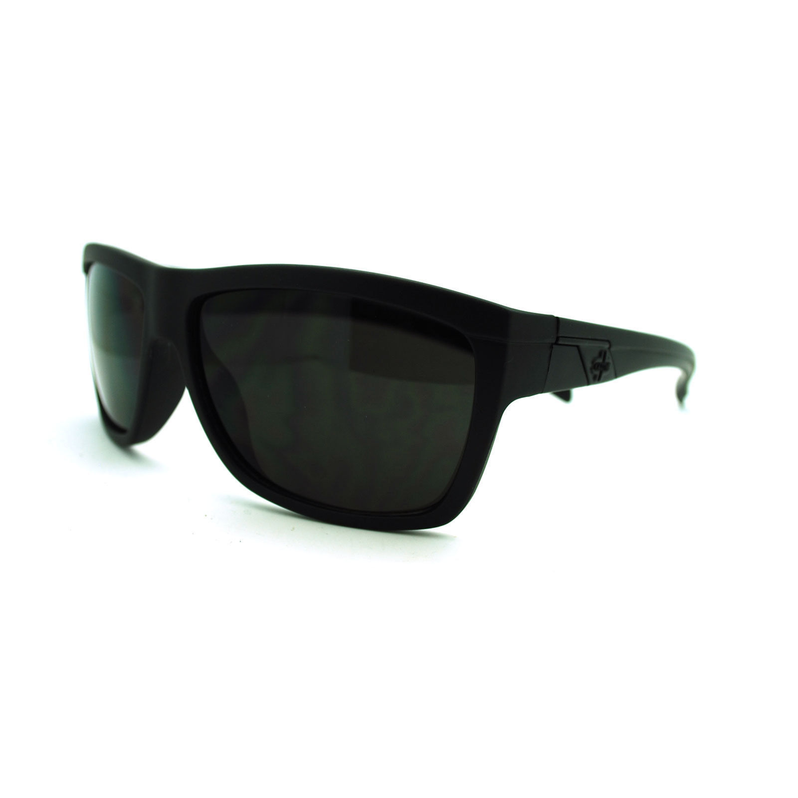 Kaotic Men's Flat Top Sporty Rectangular Gangster Mob Skater Shade Sunglasses