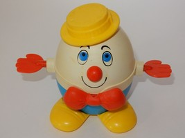 Fisher Price 1970's Humpty Dumpty #736 Pull Toy - $14.84