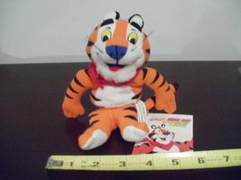 1997 Kellogg's Tony Tiger beanbag~escaped from the bag~new w/tag~Frosty,... - $14.95