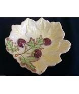 VTG  Brentleigh Ware Staffordshire England Beech bowl raspberry leaf pat... - $20.79