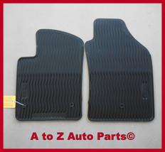 NEW 2012-2015 Fiat 500 Slush Style RUBBER Floor Mats, OEM Mopar - $81.95