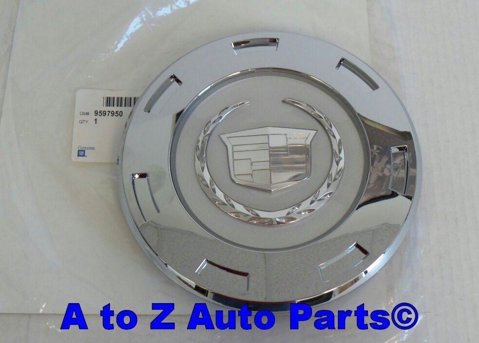NEW 2007-2011 Cadillac Escalade 22 inch Chrome 7 Spoke Wheel Center Cap, GM
