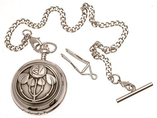 Engraving included - 5 Bud Rennie pocket watch pewter fronted mechanical desi...