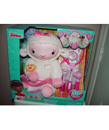 New Doc McStuffins Take Care of Me Lambie Interactive Plush - $89.00