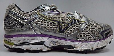 Mizuno Wave Inspire 7 Women's Running Shoes Size US 8 M (B) EU 38.5 White Silver