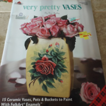 Very Pretty Vases by Sue Bailey, Ceramic, Tole, Decorative Painting Book - $3.00