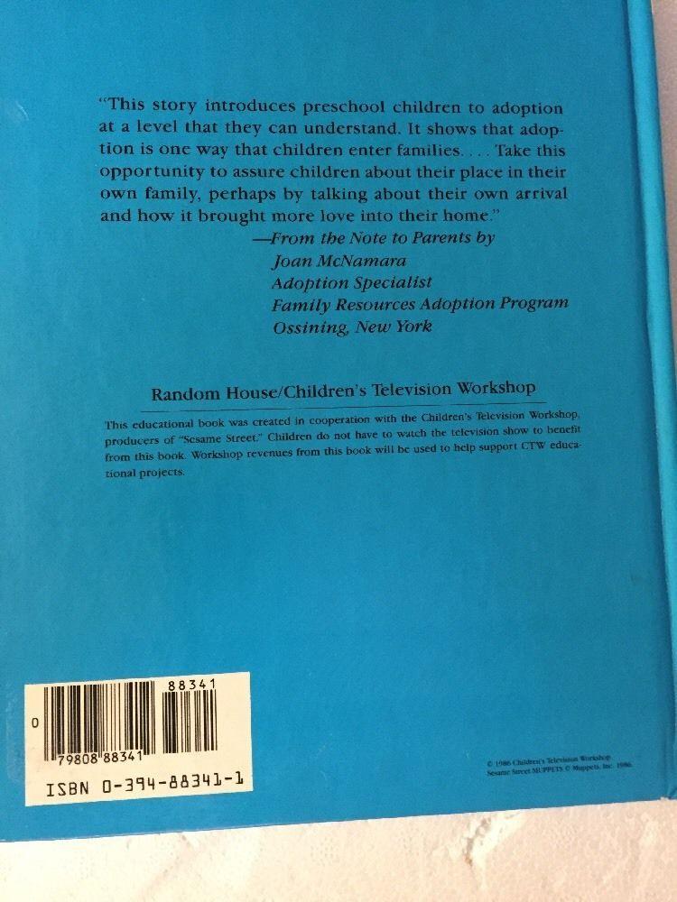 Susan and Gordon Adopt a Baby: (Reissue) (Sesame Street Books)