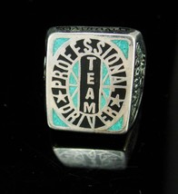 Truck Ring Sterling silver Wildcat professional driver Truckers Team tur... - $165.00