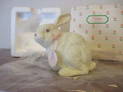 Department 56 porcelain bisque Easter Bunny 1997