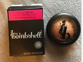 Be A Bombshell Cosmetics Baked Bronzer in Heat Wave FULL SIZE 0.23 OZ RE... - $5.99