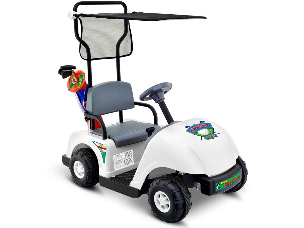 Junior Golf Cart Pro Ride On Battery Operated 6 Volt Max 5 MPH Kid's Ages 3 to 5