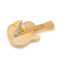 Guitar Shaped Cheese Board w/ Tools - $44.95