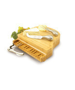 Grand Piano Shaped Cheese Board w/ Tools - £40.01 GBP
