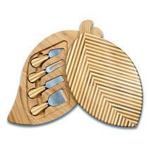 Leaf Cheese Board w/ Tools - $83.42 CAD