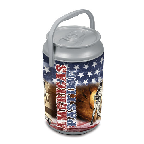 Mega Can Shaped Cooler - America's Pastime