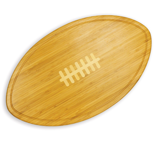 Kickoff - Football Shaped Cutting Board - Large