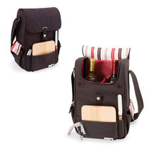 Volare Wine Tote - 2 Bottles - Collections - Moka - $759,63 MXN